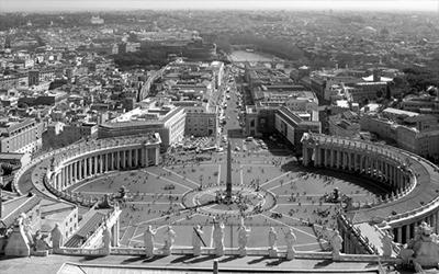 Rom Petersplatz Vatikan