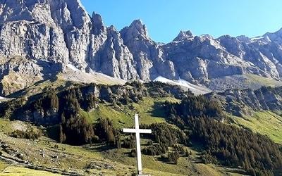Berg Kreuz Natur