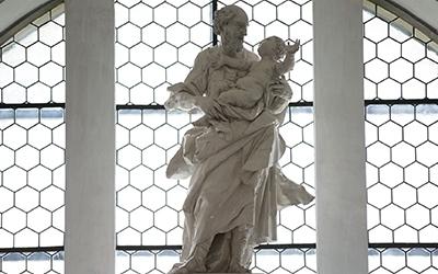 Hl Josef Altar Einsiedeln