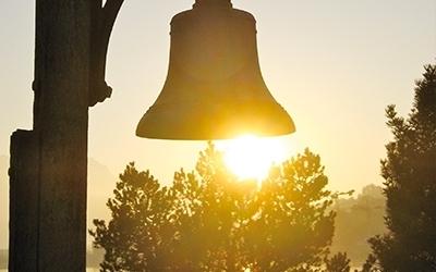 Glocke Sonnenuntergang